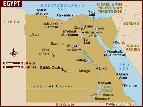 map-egypt