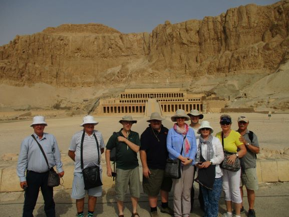 group at Hatshepsut