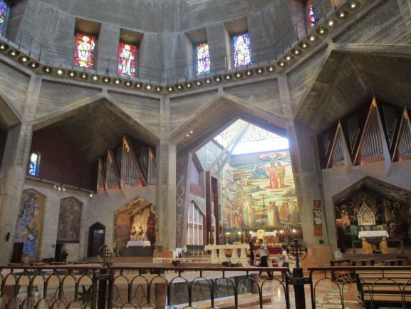 inside church nativity