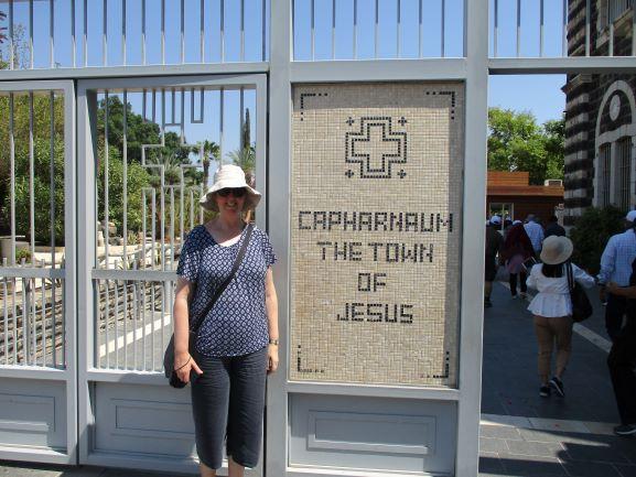 J at Capernuum
