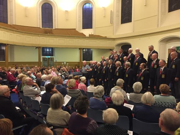 Sunday night concert at St Andrew's and St George's.jpg