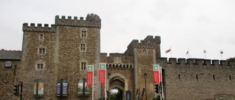 entry to castle