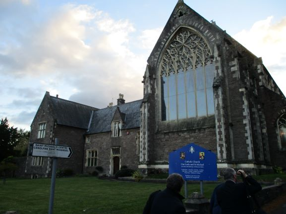 venue for evening concert with Beaufort Malve Voice Choir